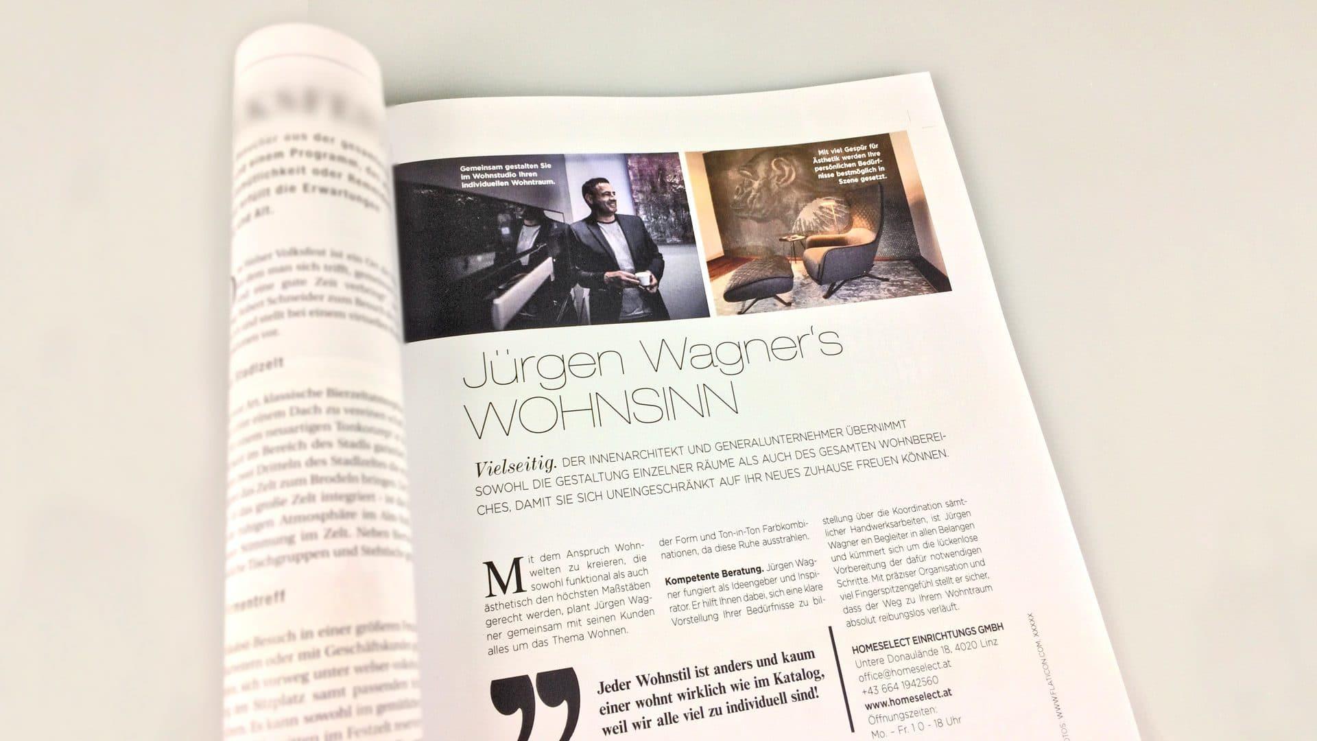 Jürgen Wagners Wohnsinn Beitrag Im Lifestyle Magazin Moments