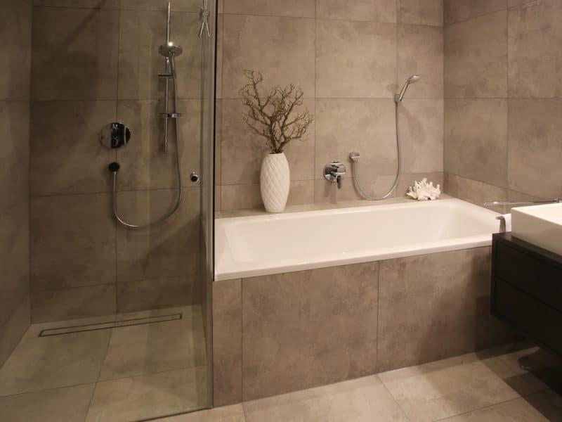 Badezimmer Umsetzung Kunde